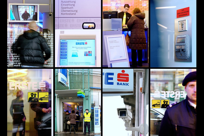 [:de]Erste Bank, Filialsicherheit[:en]Erste Bank Vienna, security