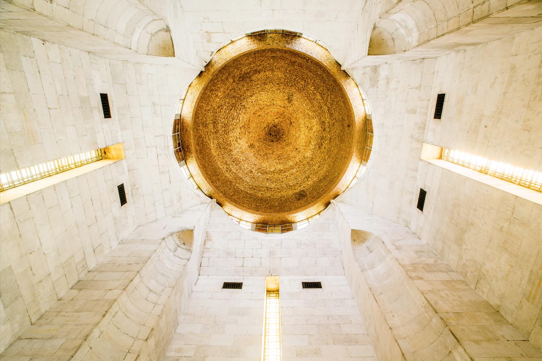 [:de] Kuppel, Unterperspektive[:en]Dome, lower perspective