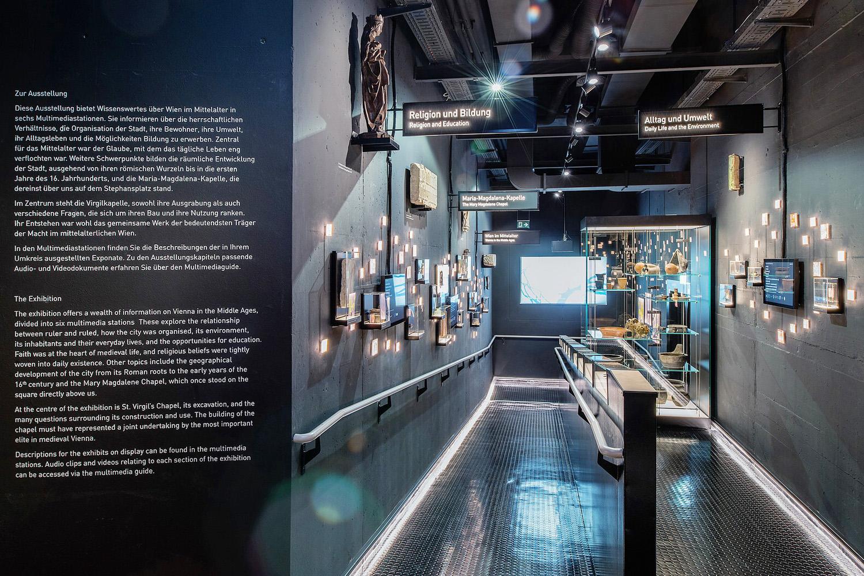 [:de]Neue museale Präsentation der Historie zur Virgilkapelle[:en]New museal display ot the History of the Vergilius Chape.l.